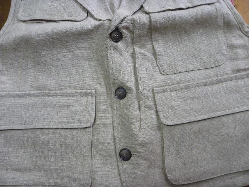 ★芦沢一洋氏のフライフィッシング時の着用ベスト Limerick _画像3