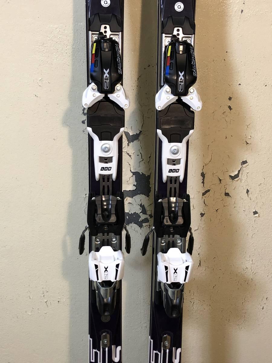 新品・未使用 サロモンスキーGS 188cm R27m ビンディングX12_画像3