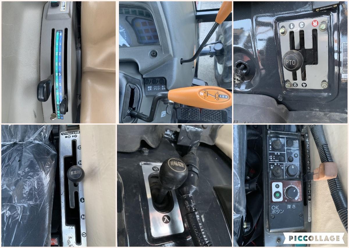 ヤンマー トラクター AF33  33馬力 920時間 キャビン エアコン パワステ 4WD 程度良_画像7