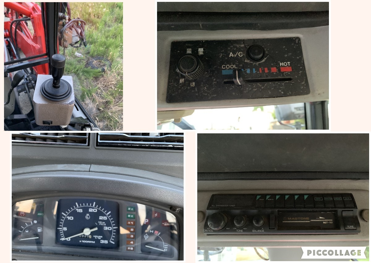 ヤンマー トラクター AF33  33馬力 920時間 キャビン エアコン パワステ 4WD 程度良_画像6