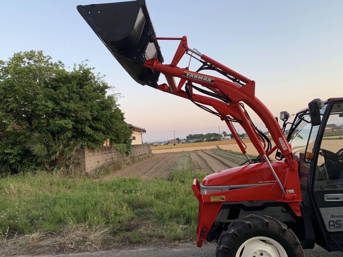 ヤンマー トラクター AF33  33馬力 920時間 キャビン エアコン パワステ 4WD 程度良_画像3