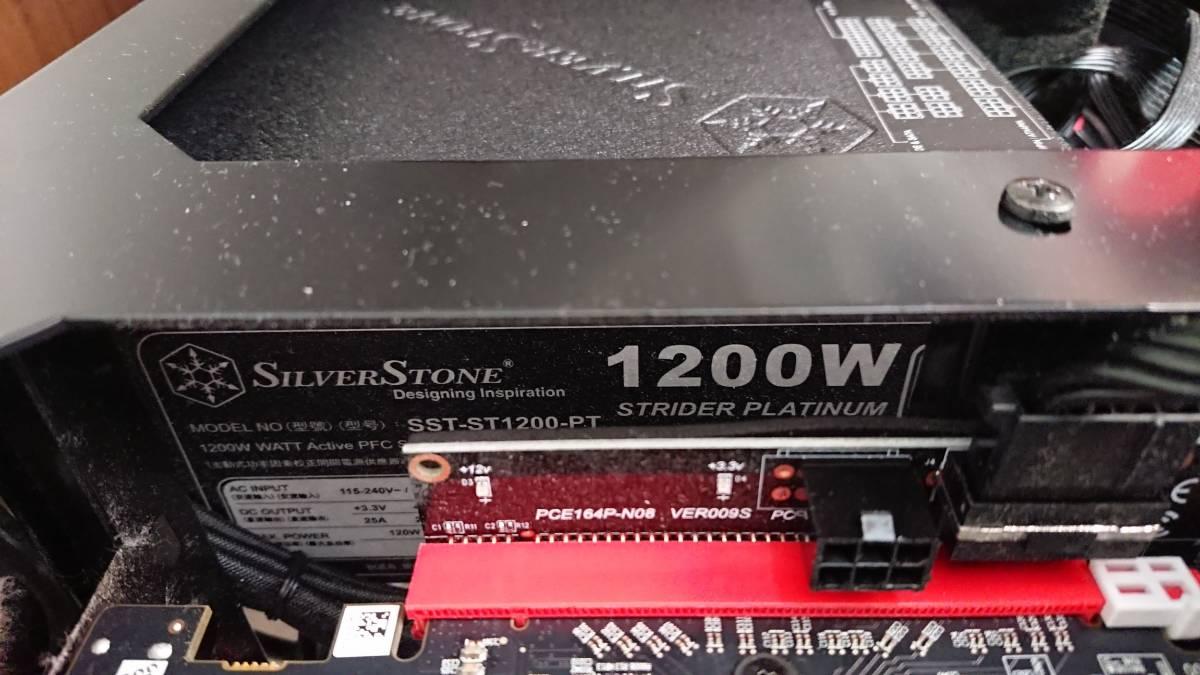 構築稼働確認済み マイニングリグ RX470 8GB 24枚 win10_画像3