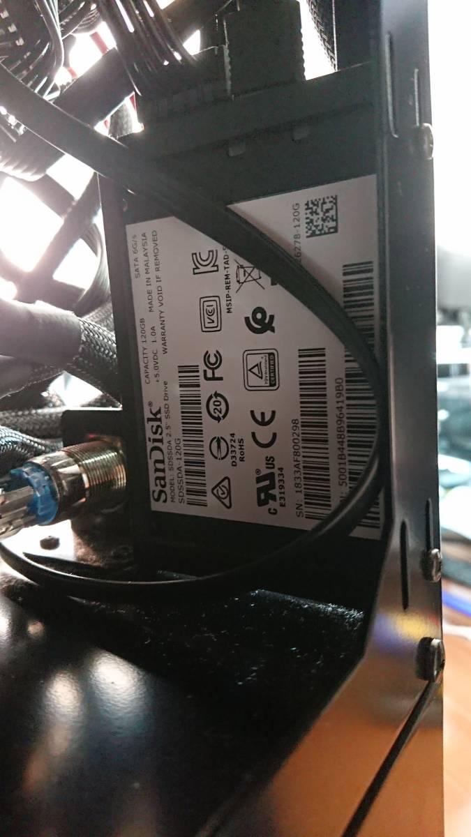 構築稼働確認済み マイニングリグ RX470 8GB 24枚 win10_画像4