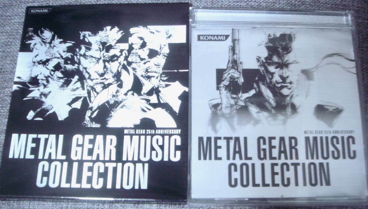 ◆【METAL GEAR 25th ANNIVERSARY METAL GEAR MUSIC COLLECTION】メタルギアソリッド/METAL GEAR SOLID /サントラ/ベスト/CD_画像1