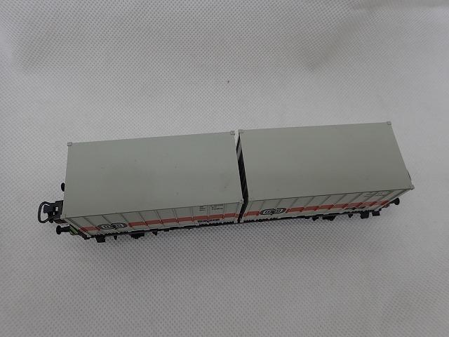 【大黒屋】中古!!☆Marklin メルクリン ContainerWagen 4664 鉄道模型 HOゲージ ☆_画像2