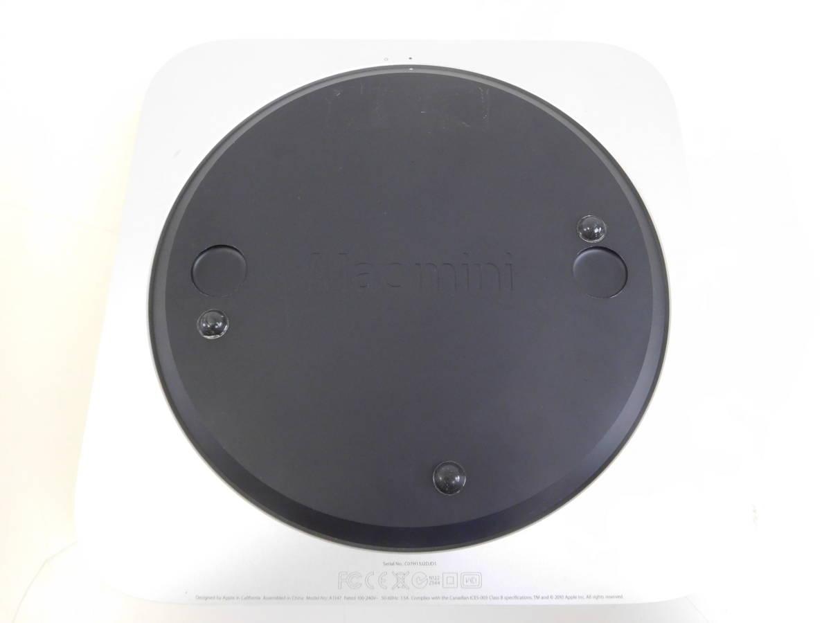 Apple Mac mini マックミニ A1347 2×2GB ジャンク品 AC/取説/箱有 4:12MNO1.2_画像5