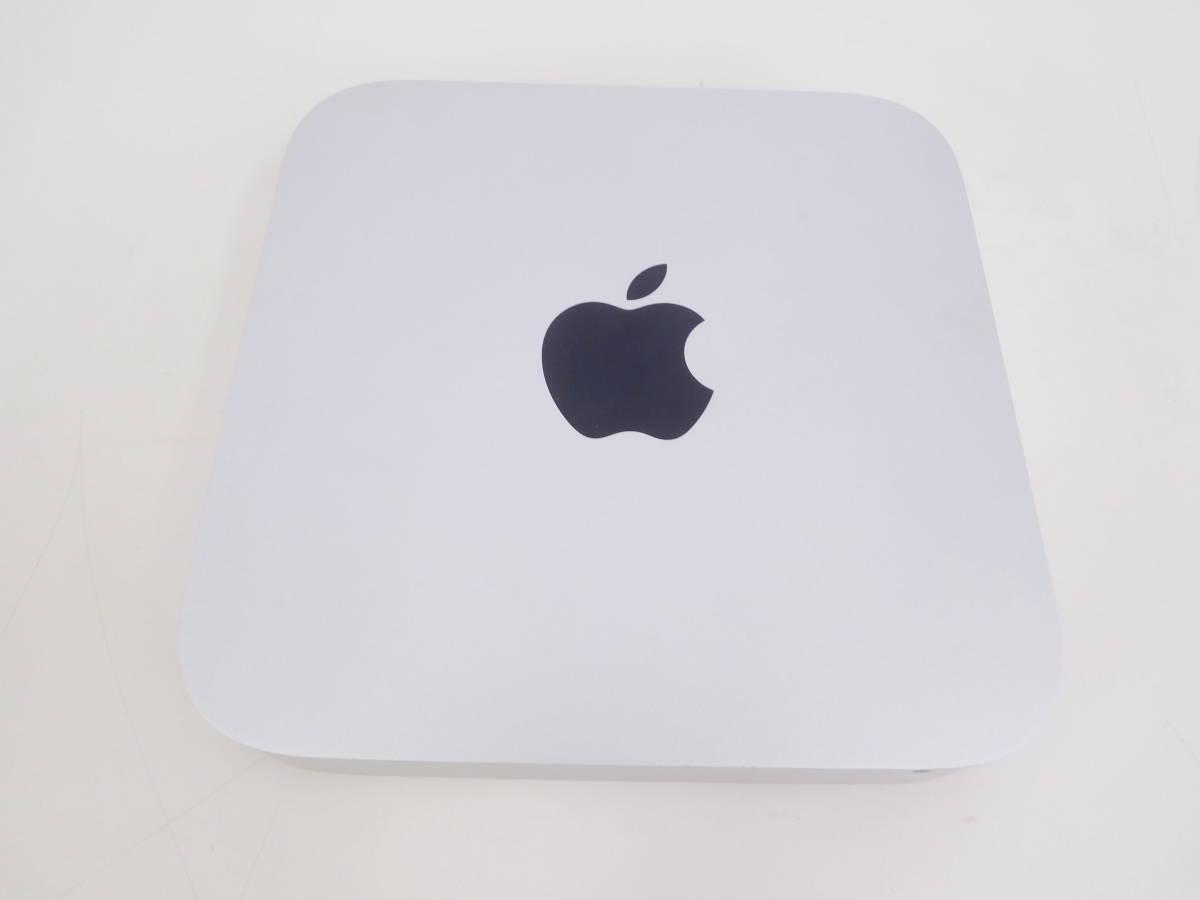Apple Mac mini マックミニ A1347 2×2GB ジャンク品 AC/取説/箱有 4:12MNO1.2_画像2