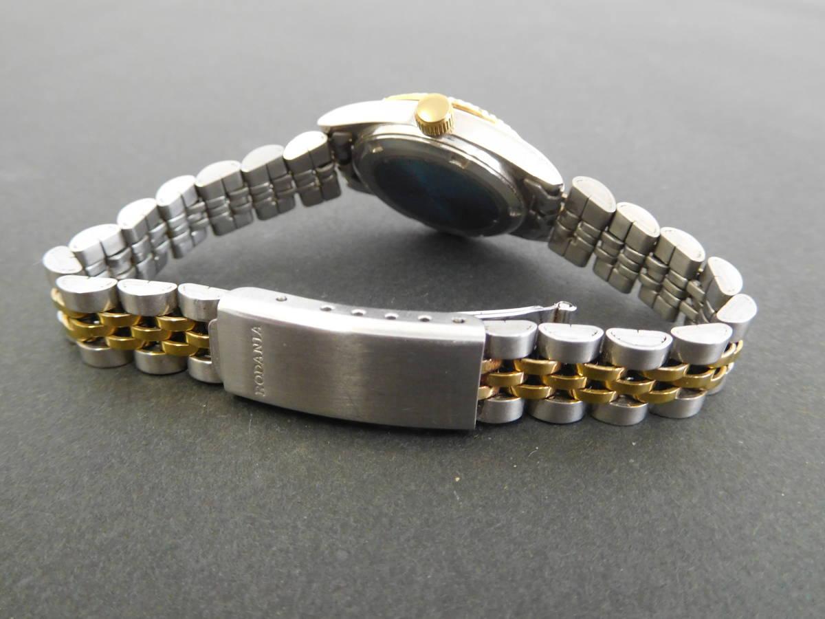 RODANIA ロダニア カナダ メイプルリーフ 金貨 腕時計 10/1OZ FINE GOLD コンビカラー 5:14ABC1.0_画像6
