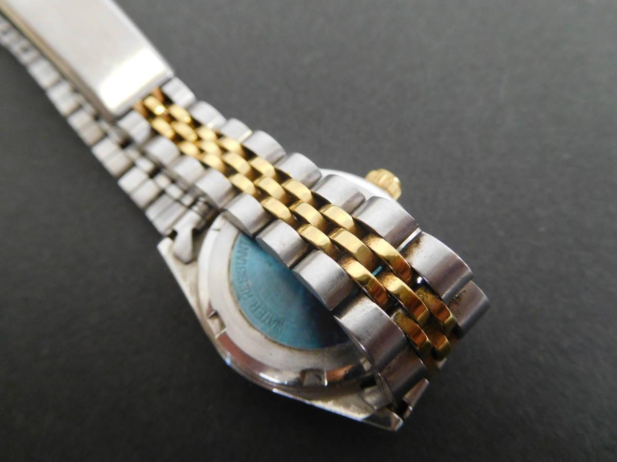 RODANIA ロダニア カナダ メイプルリーフ 金貨 腕時計 10/1OZ FINE GOLD コンビカラー 5:14ABC1.0_画像8