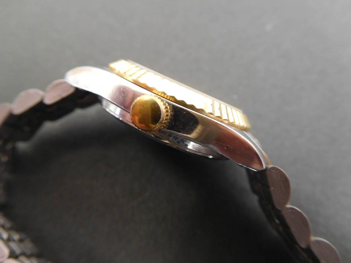 RODANIA ロダニア カナダ メイプルリーフ 金貨 腕時計 10/1OZ FINE GOLD コンビカラー 5:14ABC1.0_画像4
