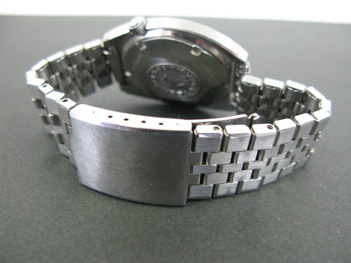 動作品 テクノス TECHNOS スカイソニック ディデイト 時計 腕時計 メンズ自動巻き オートマチック 5:22MNO0.7_画像5