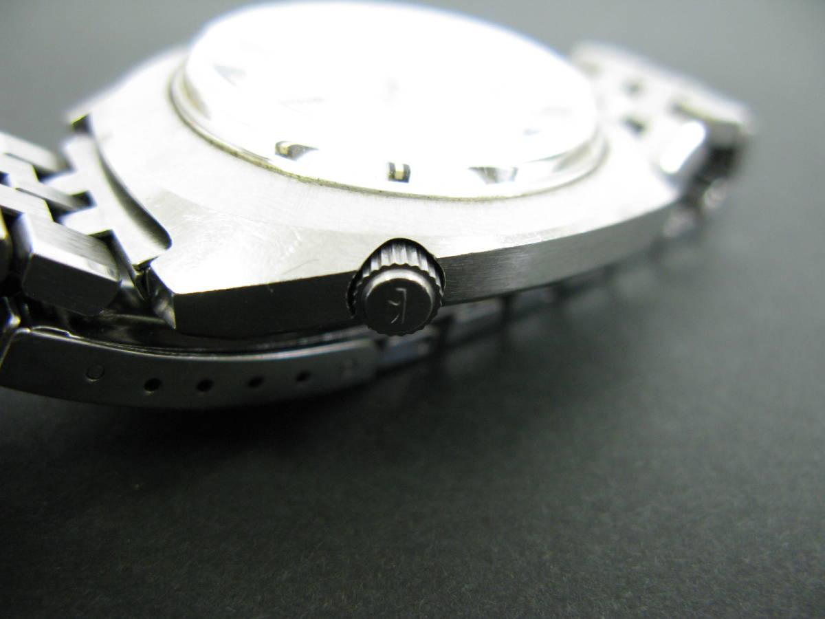 動作品 テクノス TECHNOS スカイソニック ディデイト 時計 腕時計 メンズ自動巻き オートマチック 5:22MNO0.7_画像3