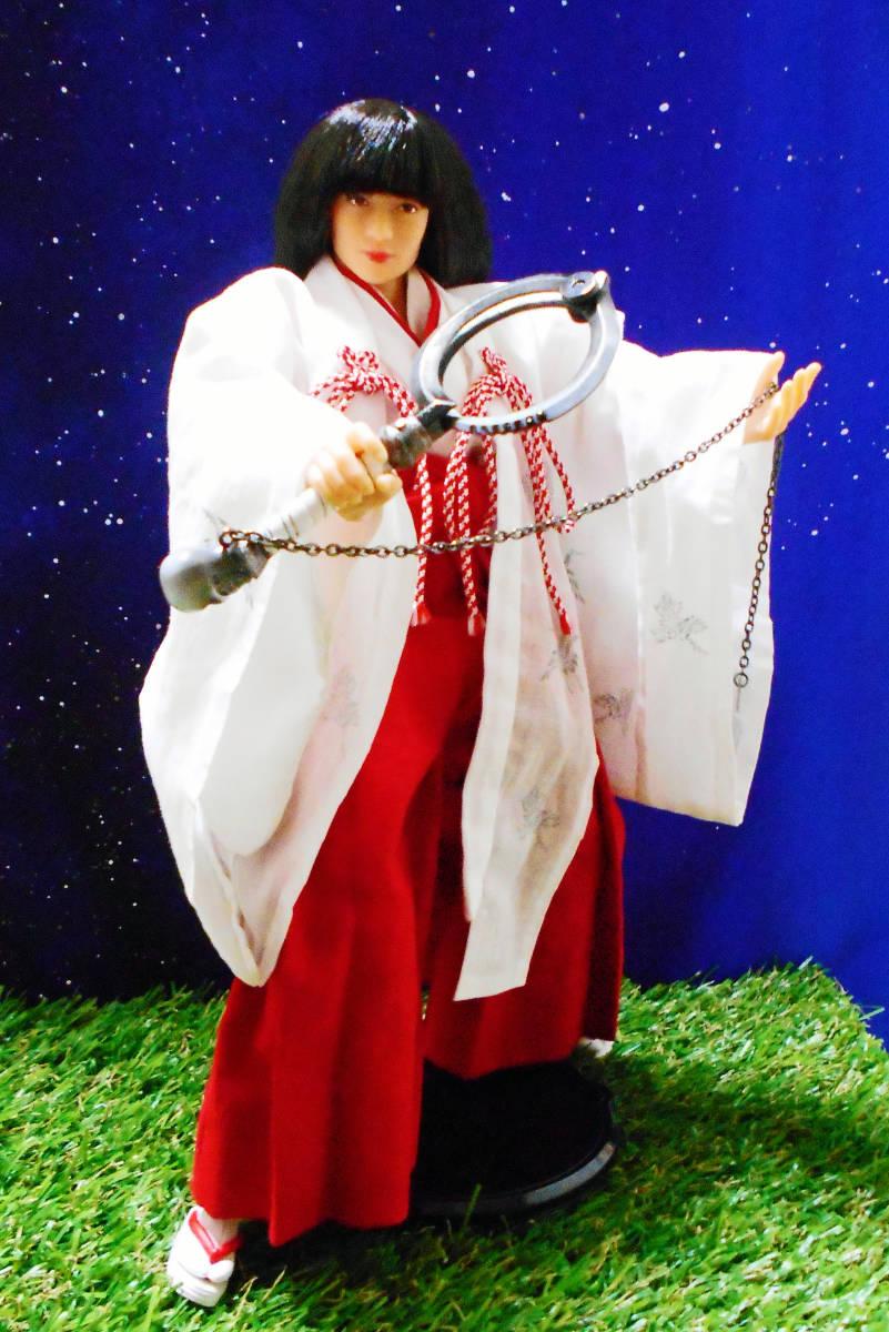 無限の住人 偽一 『錦連・三途ノ守』 鎖鎌 武器コレクション 武器屋24時間 1/6 もののふ MONONOFU ドール クールガール ガンプラ_サンプルのドール、衣装は付属しません