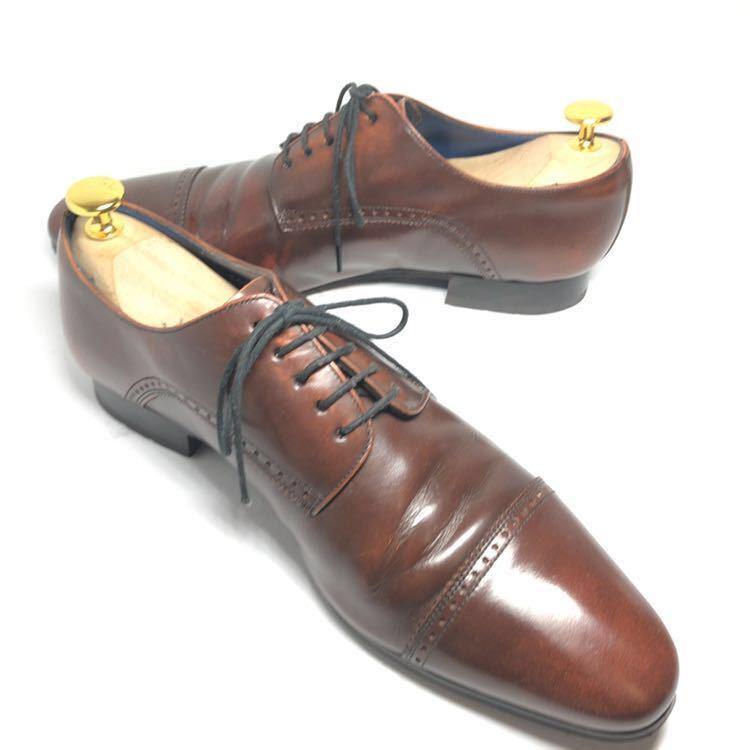 REGAL リーガル 24cm 革靴 ビジネスシューズ ストレートチップ 送料込_画像7