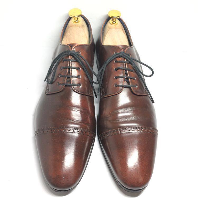 REGAL リーガル 24cm 革靴 ビジネスシューズ ストレートチップ 送料込_画像2