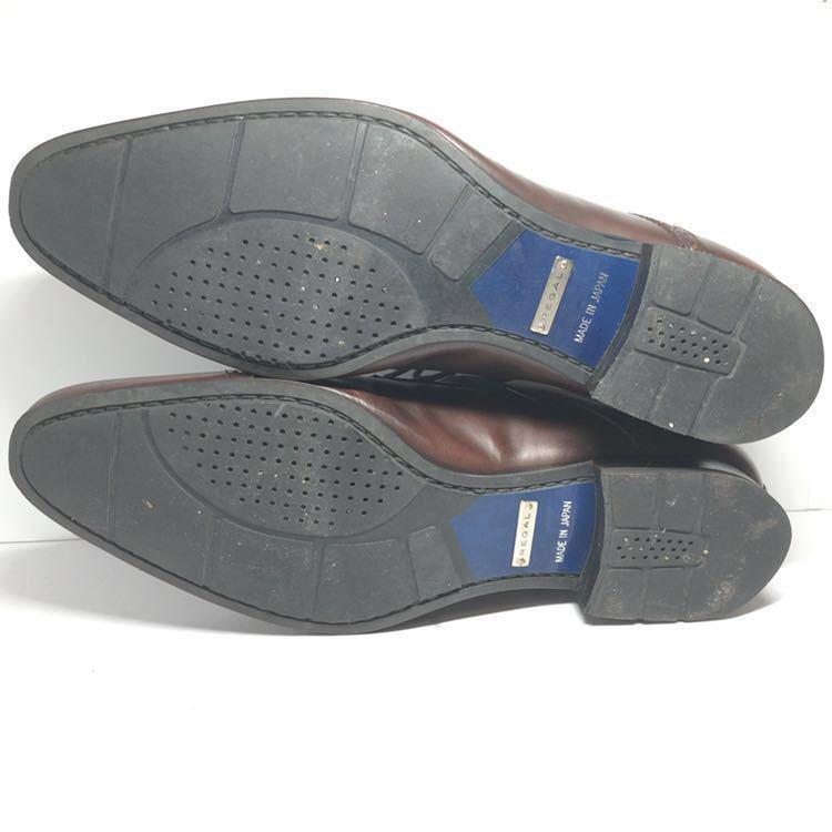 REGAL リーガル 24cm 革靴 ビジネスシューズ ストレートチップ 送料込_画像6