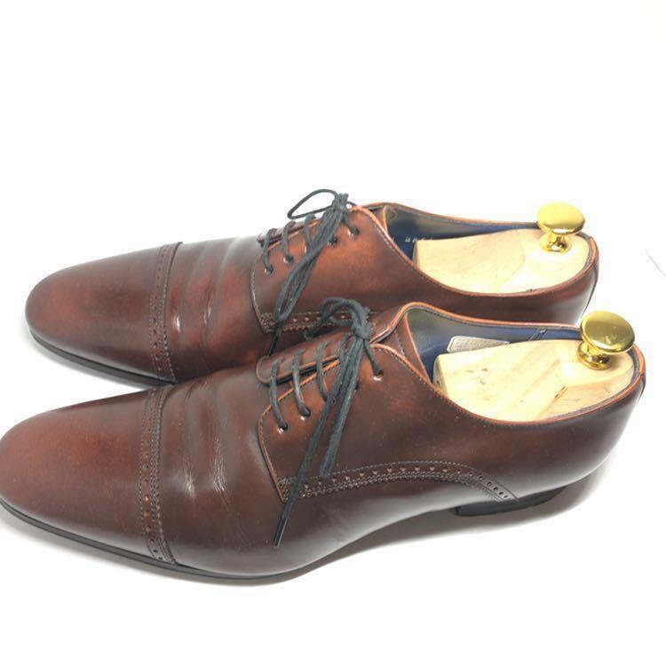 REGAL リーガル 24cm 革靴 ビジネスシューズ ストレートチップ 送料込_画像5