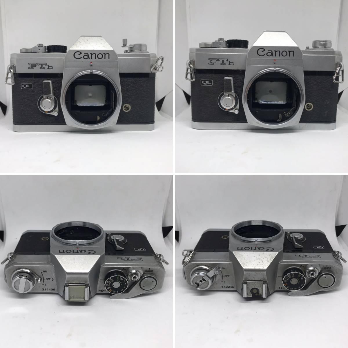 【1円スタート】キヤノン AE-1 PROGRAM、A-1、FTb、QL17 G-Ⅲ、demi EE17 他【カメラまとめて14点】_画像5