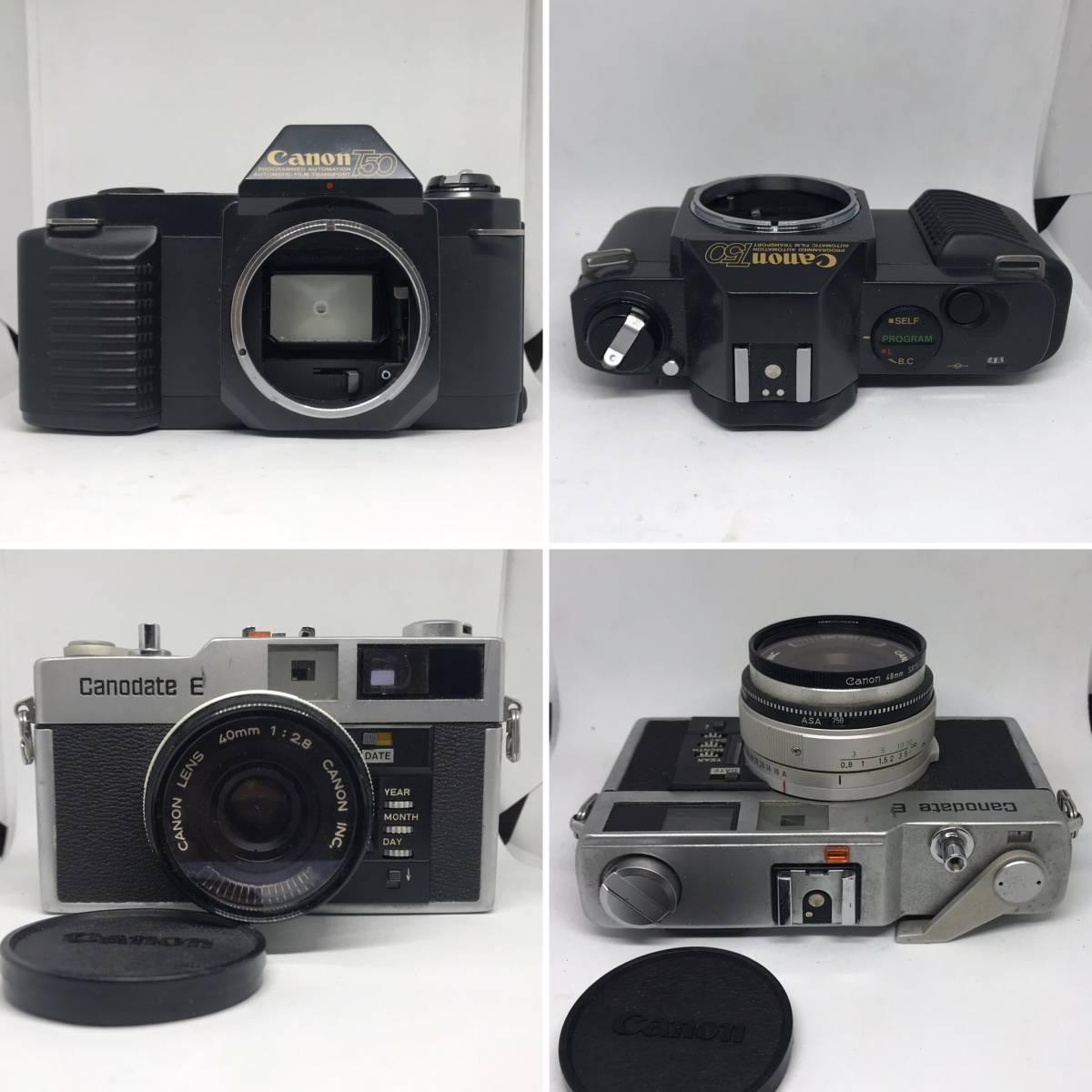 【1円スタート】キヤノン AE-1 PROGRAM、A-1、FTb、QL17 G-Ⅲ、demi EE17 他【カメラまとめて14点】_画像10