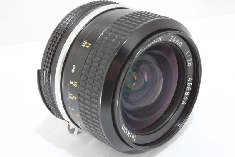 ニコン Nikon NIKKOR 24mm F2.8 [458864]_画像4