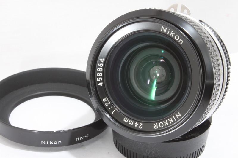 ニコン Nikon NIKKOR 24mm F2.8 [458864]