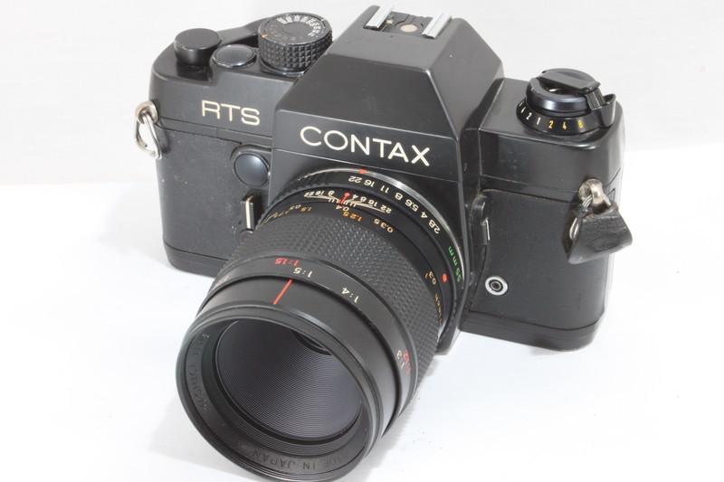 コンタックス CONTAX RTS YASHICA LENS 55mmf2.8 [021185]