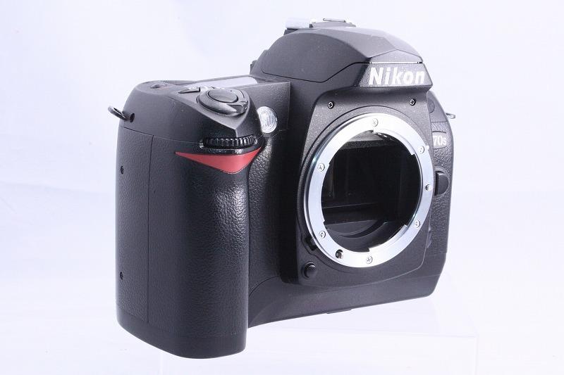 ☆★極上美品★☆初心者入門☆ Nikon ニコン D70s 純正 Wレンズセット  AF 28-80mm / AF 70-300mm  綺麗なレンズです。_画像4