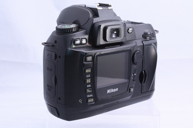 ☆★極上美品★☆初心者入門☆ Nikon ニコン D70s 純正 Wレンズセット  AF 28-80mm / AF 70-300mm  綺麗なレンズです。_画像5