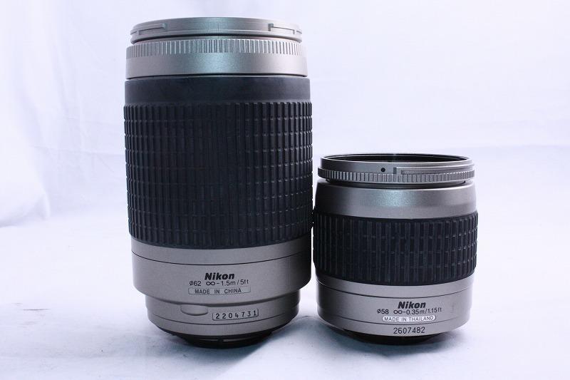 ☆★極上美品★☆初心者入門☆ Nikon ニコン D70s 純正 Wレンズセット  AF 28-80mm / AF 70-300mm  綺麗なレンズです。_画像10
