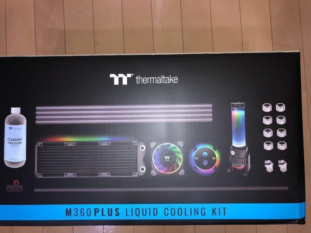 新品未開封 超特価!本格水冷ハードチューブキット Thermaltake Pacific M360 Plus D5 Hard Tube RGB Water Cooling Kit CL-W218-CU00SW-A