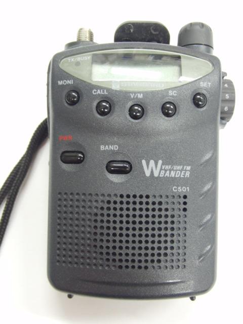 スタンダード STANDARD C501トランシーバー 無線 144/430MHz 入電OK ジャンク_画像2