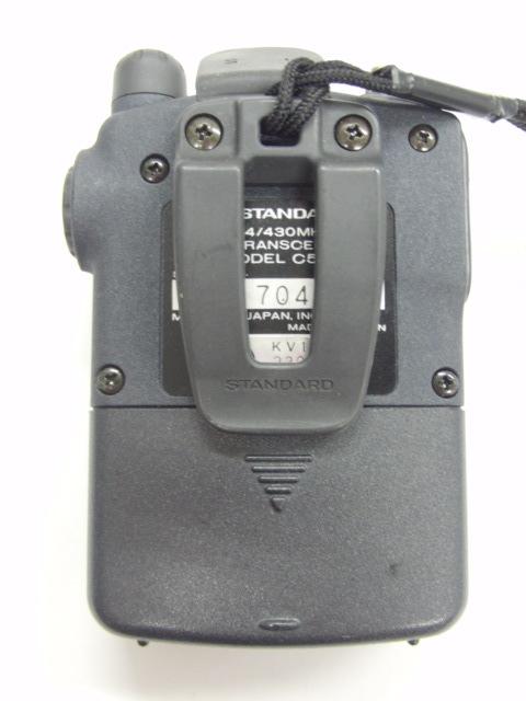 スタンダード STANDARD C501トランシーバー 無線 144/430MHz 入電OK ジャンク_画像3