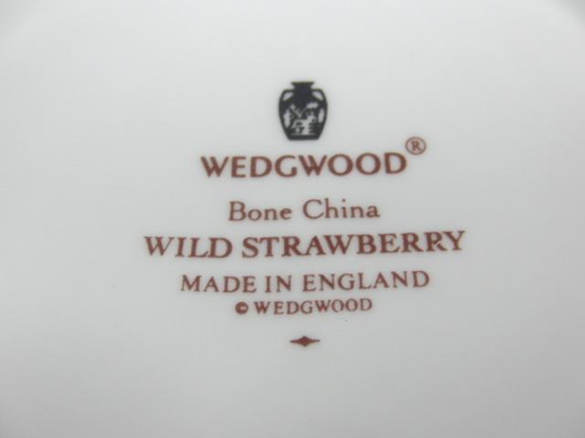 ウェッジウッド WEDGWOOD ワイルドストロベリー マグカップ ペア 2客セット_画像7