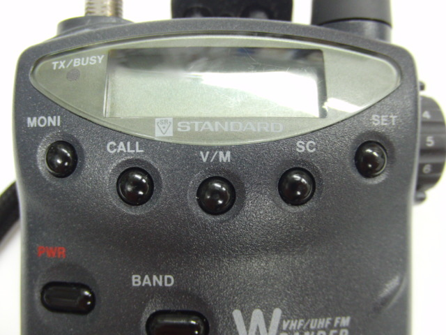スタンダード STANDARD C501トランシーバー 無線 144/430MHz 入電OK ジャンク_画像5