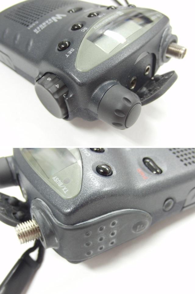 スタンダード STANDARD C501トランシーバー 無線 144/430MHz 入電OK ジャンク_画像4