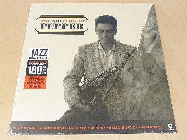 アート・ペッパー The Artistry Of Pepper限定リマスター180g重量盤未開封LPボーナス1曲追加Art Pepper Bud Shank Russ Freeman DMM_未開封限定リマスター180g重量盤LP