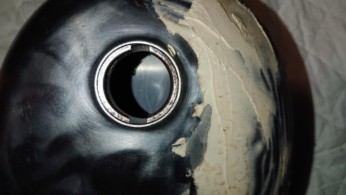 モンキーガソリンタンク 補修用やカスタム用に剥離済み検索ゴリラ_画像8