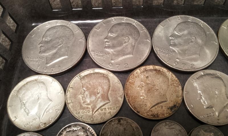 外国銭おまとめ☆アメリカ ドル セント ダイム 銀貨 アイゼンハワー ケネディ インディアンなど_画像2
