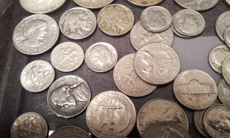 外国銭おまとめ☆アメリカ ドル セント ダイム 銀貨 アイゼンハワー ケネディ インディアンなど_画像4