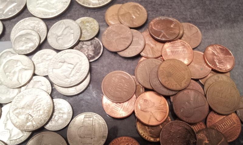 外国銭おまとめ☆アメリカ ドル セント ダイム 銀貨 アイゼンハワー ケネディ インディアンなど_画像5