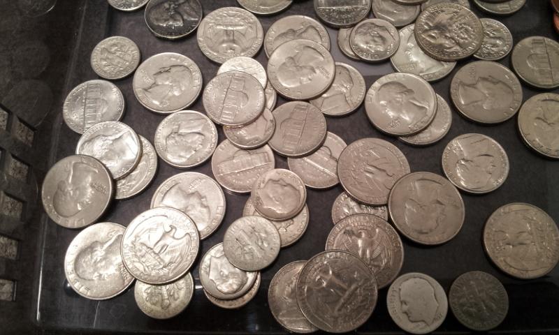 外国銭おまとめ☆アメリカ ドル セント ダイム 銀貨 アイゼンハワー ケネディ インディアンなど_画像6
