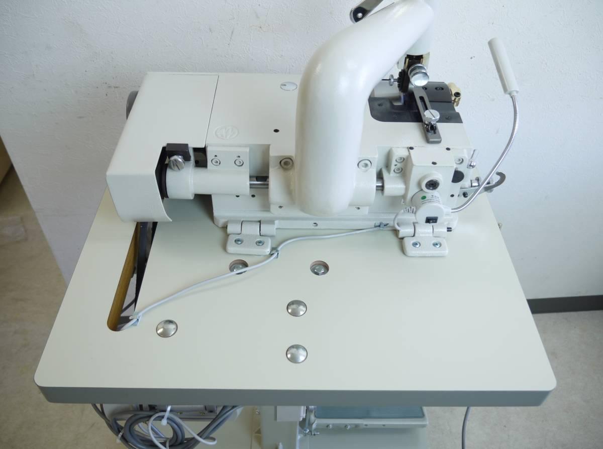高性能★バードランド革漉き機 LC801W サーボモーター付き キャスターテーブルタイプ_画像4