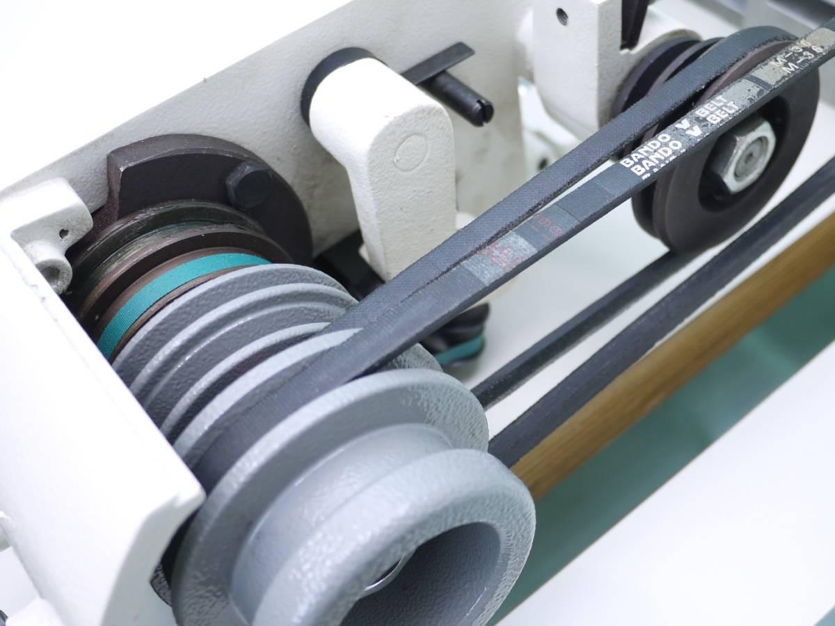 高性能★バードランド革漉き機 LC801W サーボモーター付き キャスターテーブルタイプ_画像9