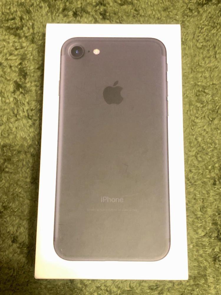 【新品未使用】iPhone7 32GB Docomo ブラック SIMロック解除済 NW制限◯ ②_画像2