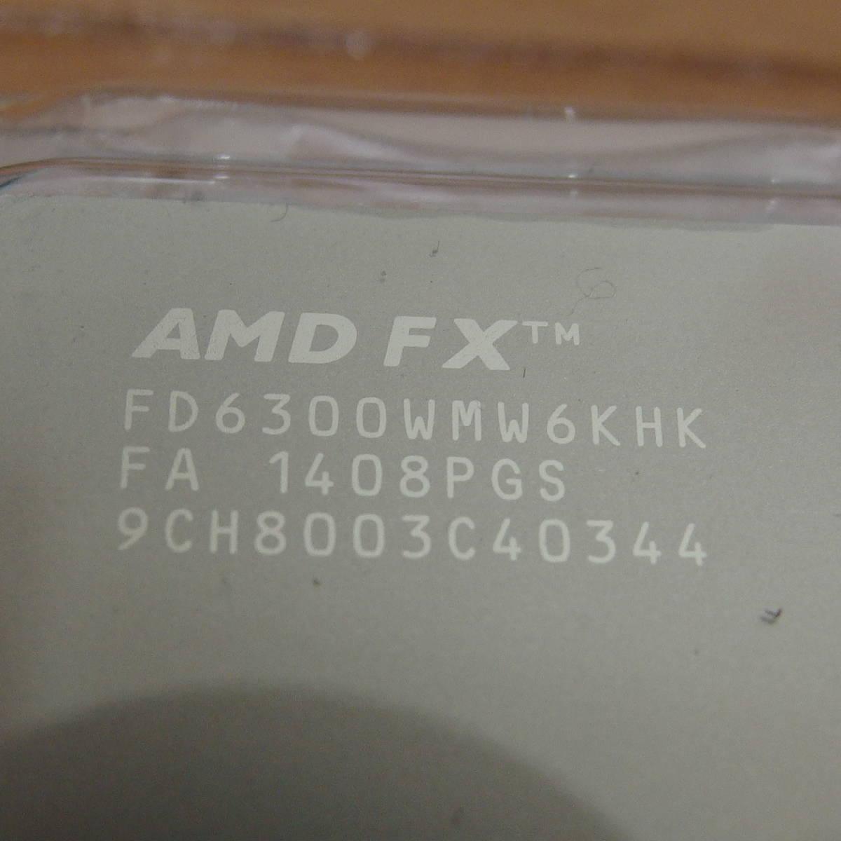 AMD FX6-CORE FX 6300 ブラックエディション AM3+_画像2
