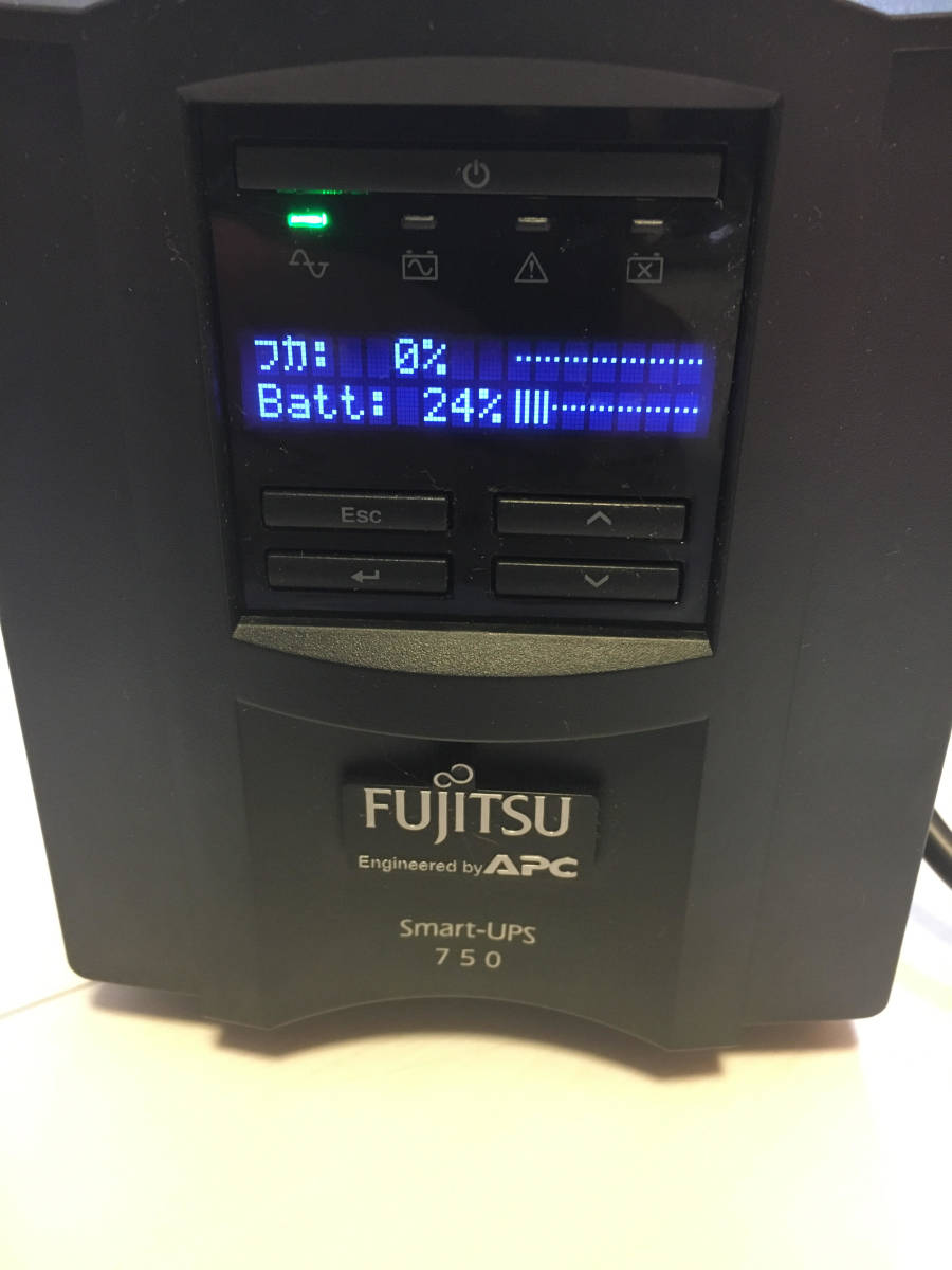APC UPS 無停電電源装置 Smart-UPS 750 FUJITSU 富士通 箱あり _画像4