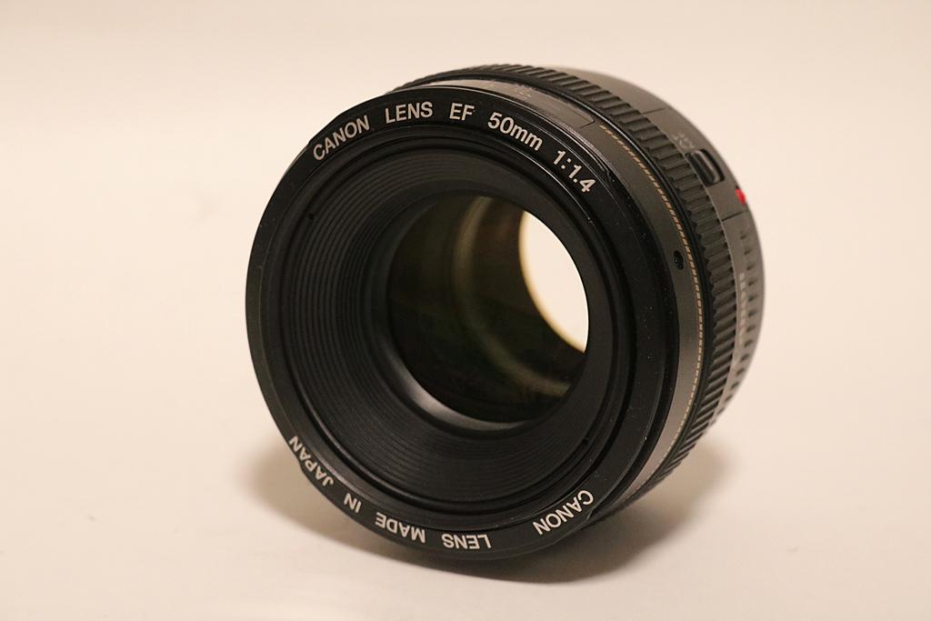 中古美品 Canon キヤノン EF 50mm F1.4 USM