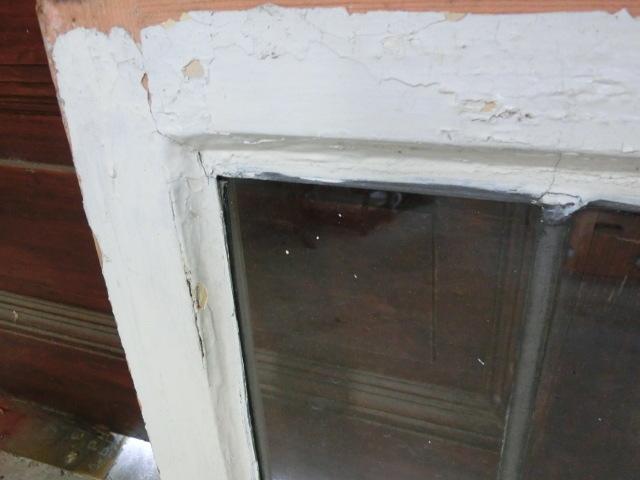 ステンドグラス 英国アンティーク 12S-272 バラ柄 クリアガラス 窓 ドア インテリア 送料無料_画像10