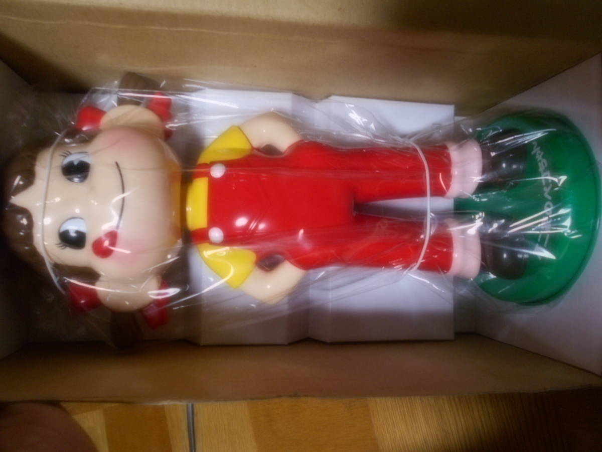 即決 非売品 懸賞 当選品 東海CGCグループ・不二家共同企画「ペコちゃん首振り人形」プレゼントキャンペーン
