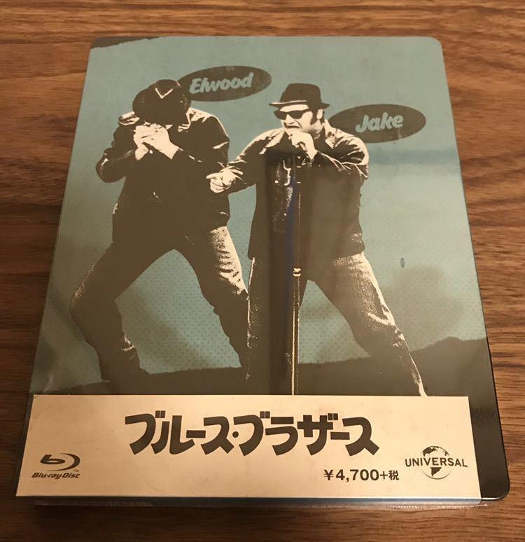 新品未開封 〔Amazon限定〕ブルース・ブラザーススチールブック [Blu-ray]&オリジナルブックレット(8P) 特典付き
